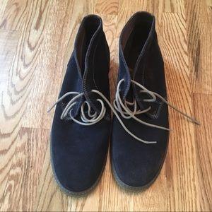 Johnston & Murphy Men's Suede Chukka boots Blue 12